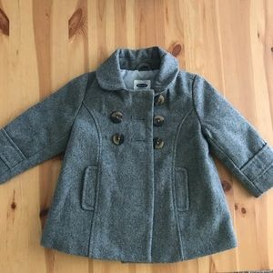 Toddler Wool Old Navy Peacoat 12-18 months